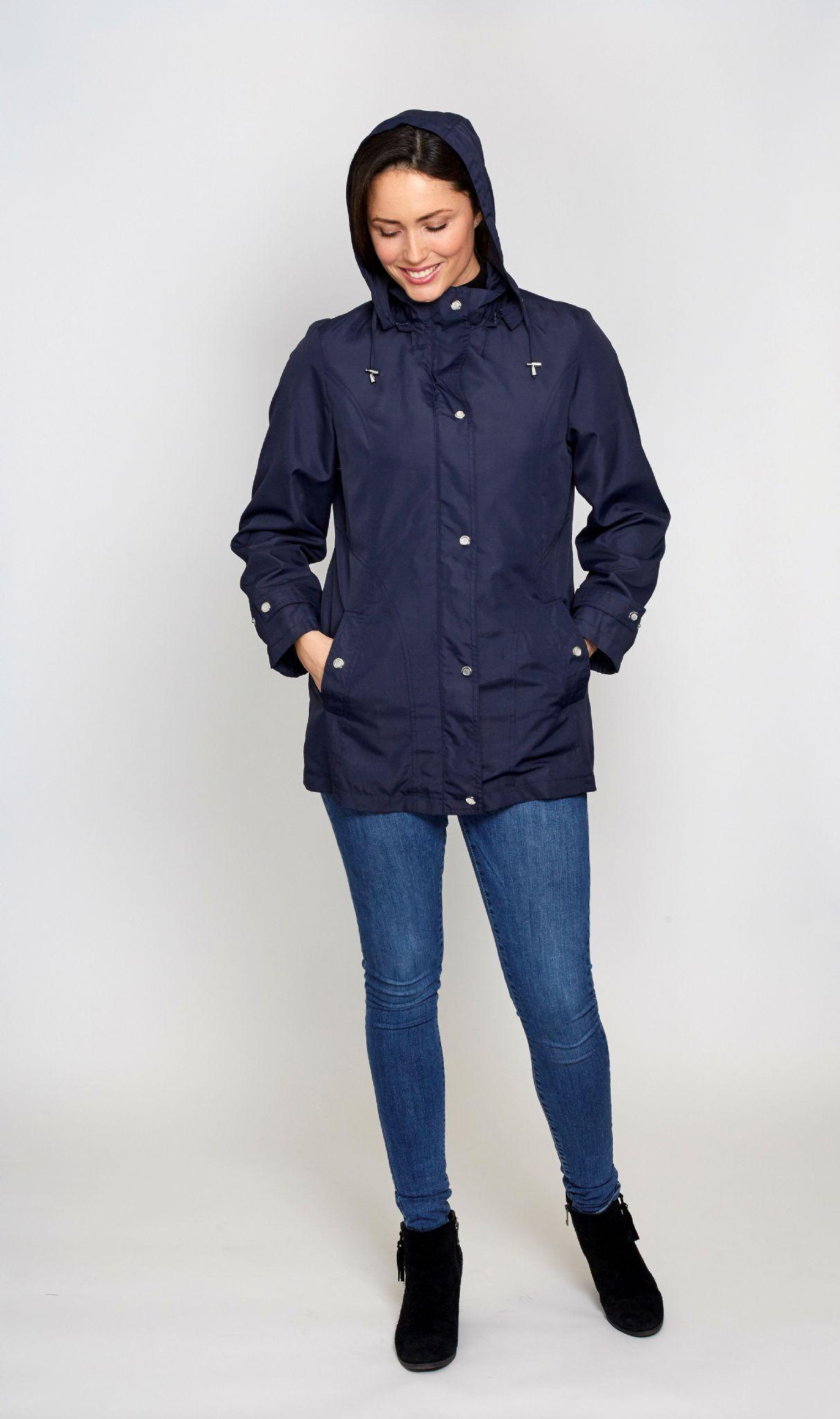 Womens rain jackets with hood